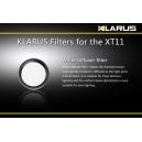 Filtre Blanc pour lampe Klarus XT11